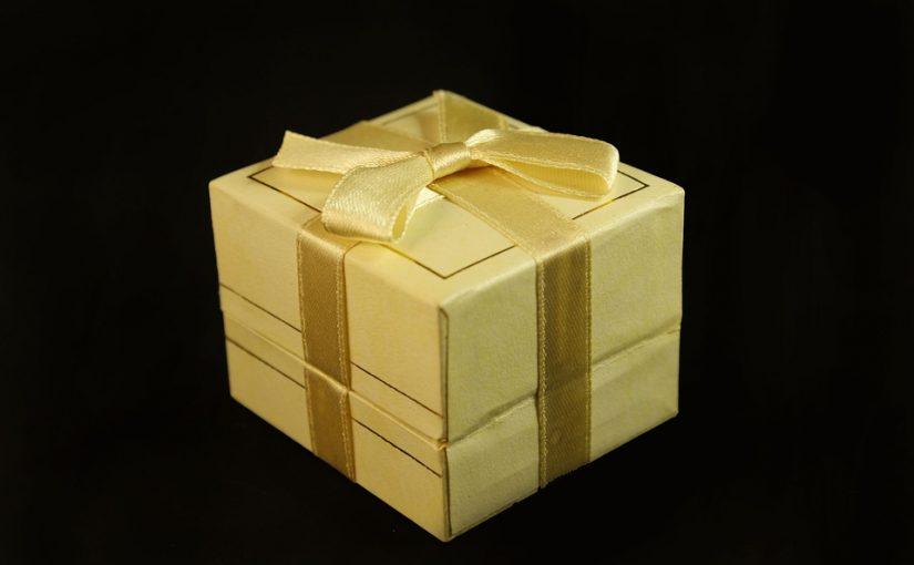 Cajas decoradas para regalo