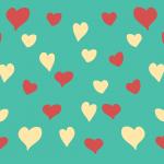 Diseño de corazoncitos para cajas decorativas